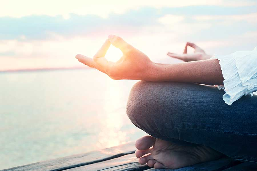 Meditation therapy works during addiction treatment